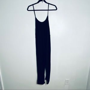 Reformation Black Jumpsuit